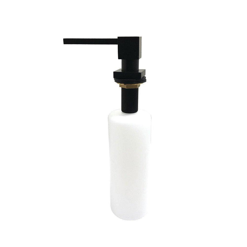 Kingston Brass SD8410 Claremont Soap Dispenser, Matte Black,