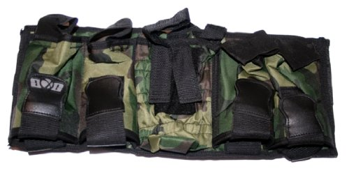 GXG 4+1 Vertical Camo Pack Paintball Harness Tank Harness Camo