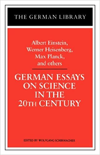 Amazoncom German Essays On Science In The Th Century Albert  German Essays On Science In The Th Century Albert Einstein Werner  Heisenberg Max Planck And Ot German Library St Edition