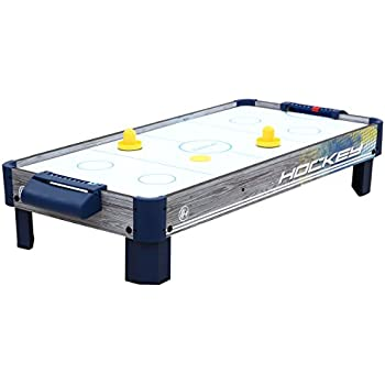 Merveilleux Harvil 40 Inch Tabletop Air Hockey Table With Powerful Electronic Blower, 2  Paddles,