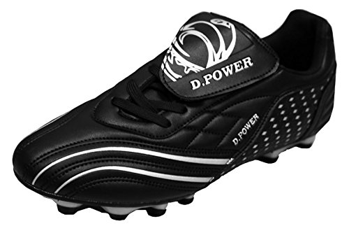 D Flexible athletische Fußball-Stollen der Männer Schwarz