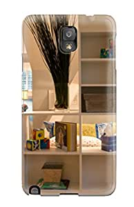 Durable Protector Case Cover With Boy8217s Contemporary Bedroom With Wall Mural 038 White Shelving Hot Design For Galaxy Note 3