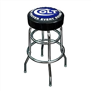 Amazon Com Colt Firearms Counter Stool Kitchen Amp Dining
