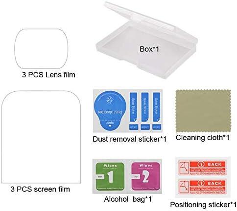 Screen Tempered Glass Film for DJI OSMO Pocket Gimbal Durable 6 PCS Lens Protector