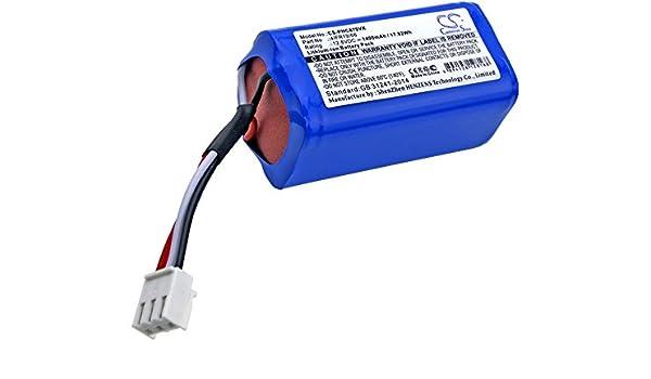 CS-PHC870VX Batería 1400mAh Compatible con [Philips] FC8603, FC8700, FC8705, FC8710 sustituye 4IFR19/66: Amazon.es: Electrónica
