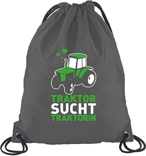 Turn Trattore Traktorin Funny Grigio Sucht Bag scuro Sport Zaino TxPdwS