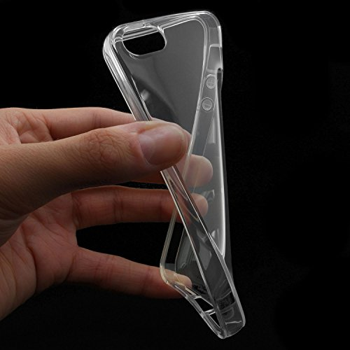 XAiOX ® 2 en 1: coque blindée en verre transparent