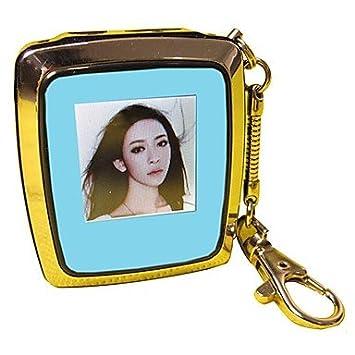 Vovin Mini 1,5 pulgadas marco digital de fotos con llavero: Amazon.es: Electrónica