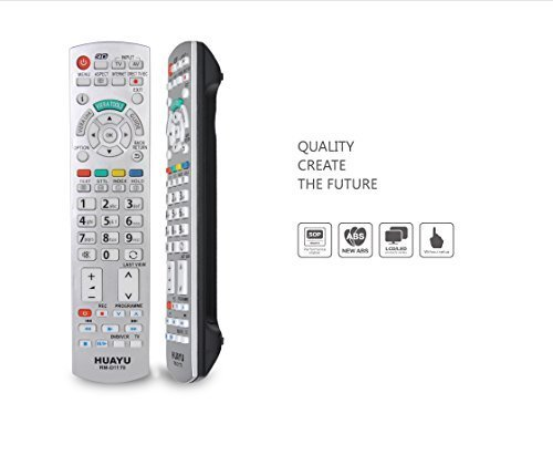 LCD LED Plasma TV Remote Control for Panasonic TV. HIGH QUALITY Universal Remote for Panasonic brand. It could directly control 99% models of Panasonic brand. See Description for Compatibility (Panasonic Plasma Audio Televisions)