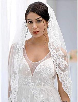 Yean Bride Wedding Veil Ivory Bridal Hair Accessories Waist Veil
