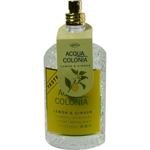 Price comparison product image 4711 Acqua Colonia By 4711 For Women Lemon & Ginger Eau De Cologne Spray 5.7 Oz *Tester