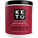 Perfect Keto Nootropic Brain Supplement: Best as Nootropics Powder Booster Smart Drug Supplements to Support Memory, Focus, Energy Peak. Ginkgo, Alpha GPC. Mental Clarity & Concentration Men & Women