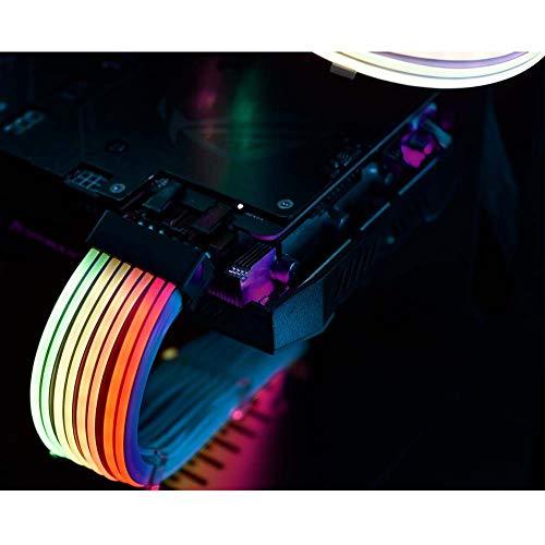 LIAN LI PW8-V2 DIRECCIONABLE RGB STRIMER Plus 8-PIN, blanco