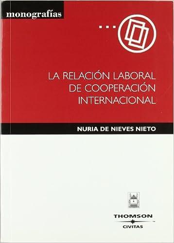 La relación laboral de cooperación internacional