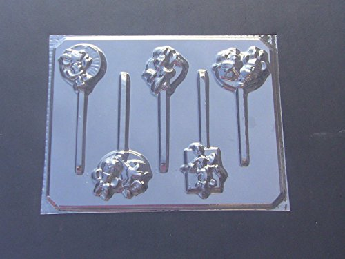 Famous Female Mouse Birthday Chocolate Candy Lollipop Mold Minnie (Minnie Mouse Lollipops)