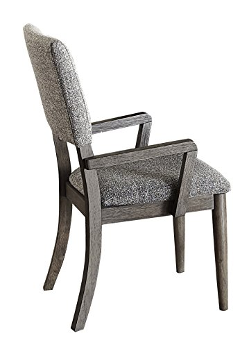 Homelegance Roux Fabric Upholstered Dining Arm Chairs, 2-Piece Pack, ()