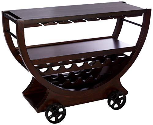 Howard Miller 695184 Wine Cabinet/Bar, Rustic