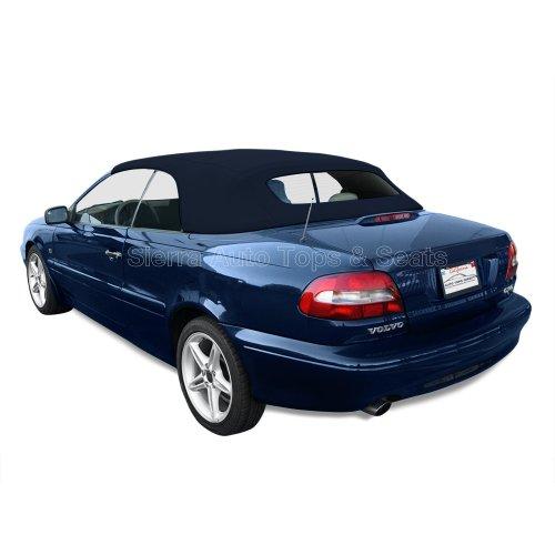 Sierra Auto Tops Volvo 1998-2006 C70 Cabriolet Convertible Top, Ger A5 Canvas, Marine Blue