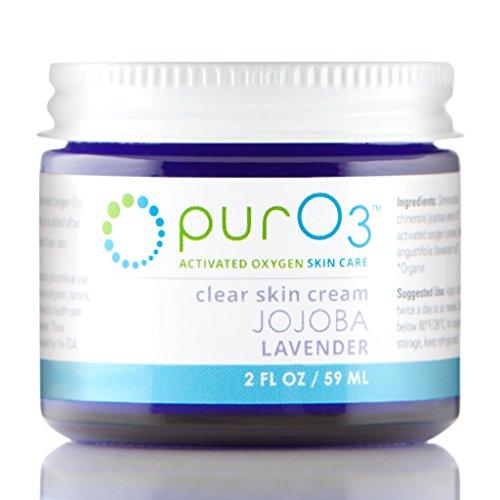 PurO3 Ozonated Jojoba Oil with Lavender - 2 oz - Glass Jars