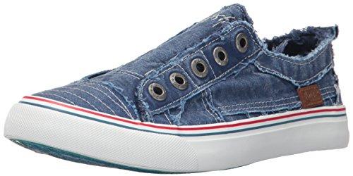 Blowfish Damen Spiel Fashion Sneaker Blaues Bootcamp-geräuchertes Segeltuch