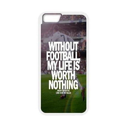 Amazon.com: iPhone 6 Cases Cristiano Ronaldo Real Madrid ...