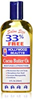 Hollywood Beauty Cocoa Butter Oil, 8 Ounce