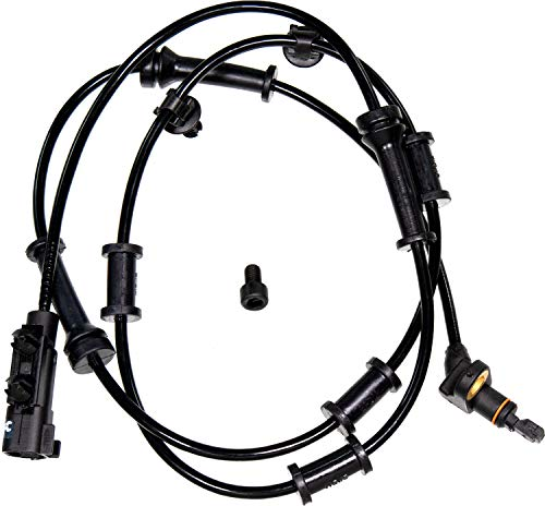 APDTY 116952 ABS Anti-Lock Brake Wheel Speed Sensor Fits Front Left or Right 2007-2016 Jeep Wrangler (Extra Long Fits All Lifted or Non-Lifted Jeeps; Replaces Mopar 68003281AC, 68003281AB, 68003281)