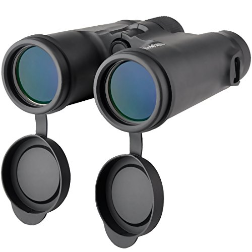 415icEgxYpL - Gosky 10x42 Binoculars for Adults, Compact HD Professional Binoculars for Bird Watching Travel Stargazing Hunting Concerts Sports-BAK4 Prism FMC Lens-With Phone Mount Strap Carrying Bag