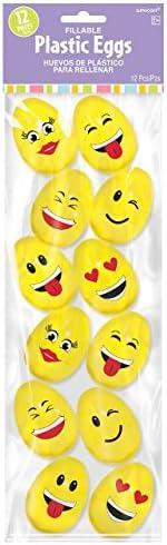 12 Ct. Small Emoji Easter Eggs 2.3