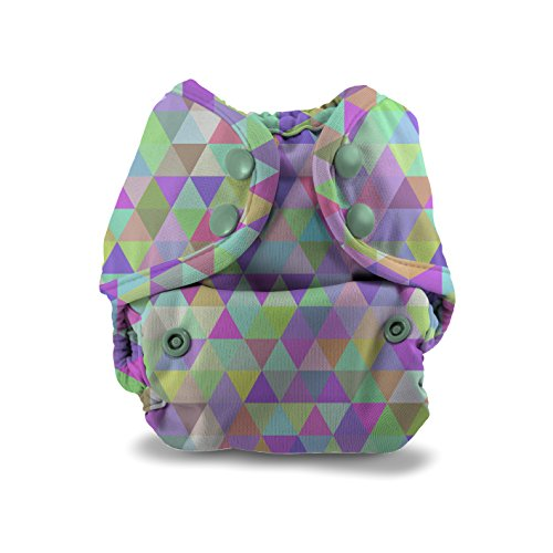 Buttons Cloth Diaper Cover - Newborn