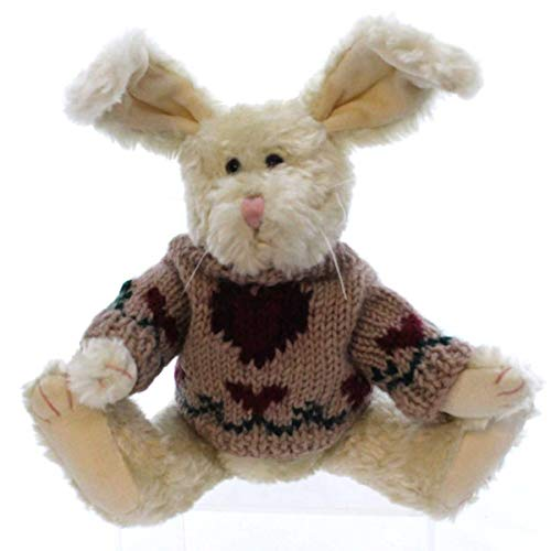 Boyds Bears Plush HOPKINS 91121 Rabbit Hearts Archive