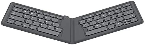 Android and Windows Tablet Devices Compatible with iOS iPhone Universal Foldable Keyboard Ultra-Thin Portable Wireless Bluetooth Keyboard for iPad