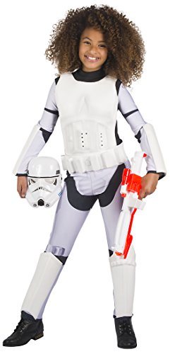Rubie's Girls Star Wars Classic Stormtrooper Costume, Large -