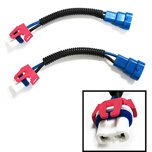 iJDMTOY 9005 9145 HB3 H10 Heavy Duty Ceramic Wiring Harness Sockets For Headlights or Fog Lights