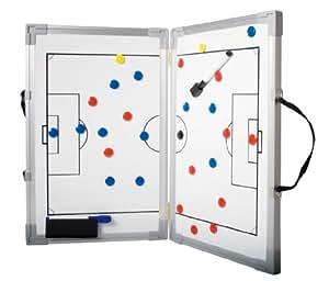 b+d - Pizarra magnética plegable (para entrenamiento de fútbol, 45 x 60 cm)