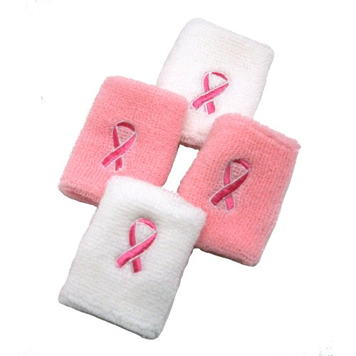 Pink Ribbon Wristband - 9