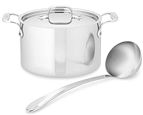 Amazon.com: All-Clad Acero Inoxidable 4 qt Olla sopera con ...