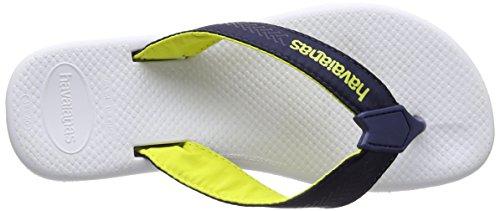 Havaianas Herren Surf Pro Zehentrenner Mehrfarbig (White/Navy Blue 0052)