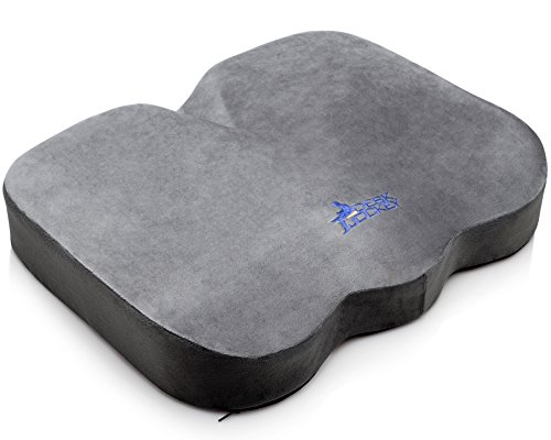 Desk-Jockey-Office-Chair-Seat-Cushion-Clinical-Therapeutic-Grade-Orthopedic-Sitting-Pillow-Non-Slip-Bottom-Coccyx-Sciatica-Pain-Relief-150-to-250lbs