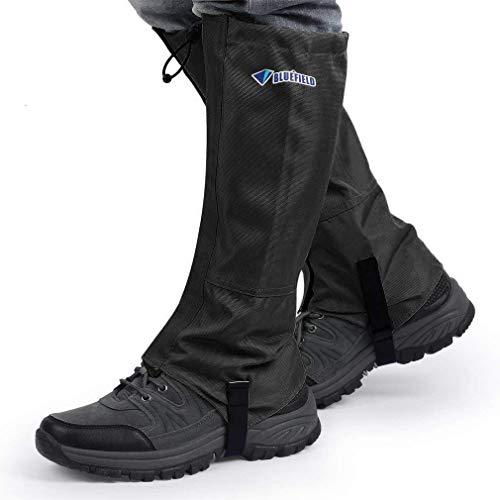 PREUP Outdoor Gamaschen, Gamaschen Wandern wasserdichte Gamaschen Gaiter 1 Paar für Outdoor-Hosen zum Wandern, Klettern…