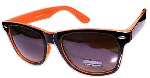 LUNETTES Orange VERRES WAYFARER Générique GRADIENT soleil de NOIR Sans DE lunettes ORANGE SOLEIL HOMME marque UN FEMME MONTURE FLUO R16w6qnxS