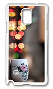 Adorable Cup City Lights Hard Case Protective Shell Cell Phone Case For iphone 6 4.7 Cover - PC White