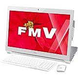富士通 一体型デスクトップパソコン ESPRIMO スノーホワイト FMVW53WW