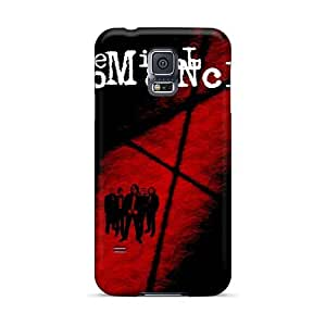 Samsung Galaxy S5 JFf8941vQkQ Allow Personal Design High Resolution Red Hot Chili Peppers Skin Shock Absorbent Cell-phone Hard Covers -LauraAdamicska