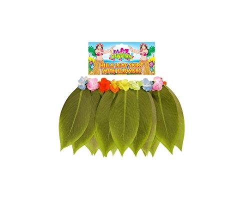 Ladies Sexy Hawaiian Hula Girl Grass Banana Leaf Skirt - Fancy Dress Costume (Sexy Hula Costume)