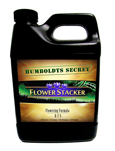 (Humboldts Secret Best Flowering Plant Food Flower Stacker - Let Your Flowers Mature to Their Maximum Potential (32 Ounce))