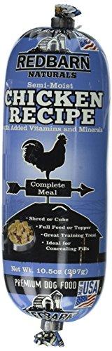 Redbarn Premium Dog Food Semi Moist Chicken Recipe 10.5-Ounce