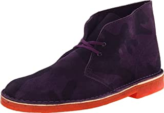 CLARKS Men's Desert Chukka Boot, Purple Camo Suede, 8 M US (B00AYCLECW) | Amazon price tracker / tracking, Amazon price history charts, Amazon price watches, Amazon price drop alerts