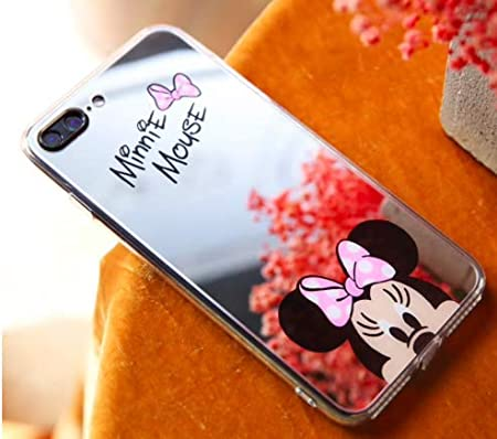 Art Design Funda iPhone 7+ Plus/iPhone 8+ Plus Minnie Mickey Mouse ...