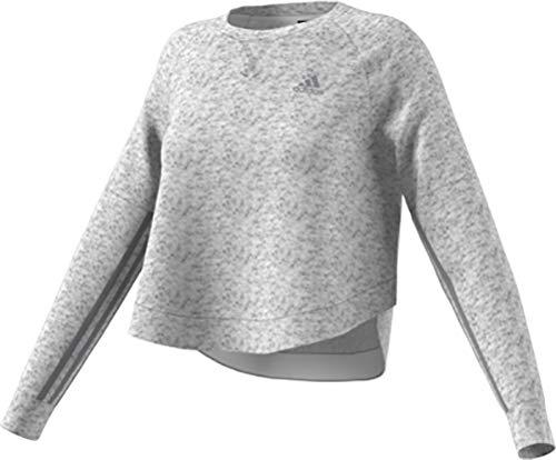 - adidas Women's Athletics Sport 2 Street Tunic, White Melange/Grey Three, X-Large